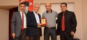 Başkan Acar, Türk Eğitim-Sen üyesi öğretmenlere iftar yemeği verdi