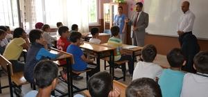 Saruhanlı'da öğrenciler karnelerini aldı
