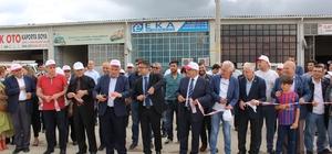 Kapaklı Atık Getirme Merkezi açıldı