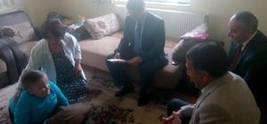Daday'da evde eğitim gören öğrenciler karne aldı