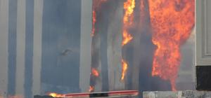 GÜNCELLEME - Osmaniye'de kağıt fabrikasında yangın