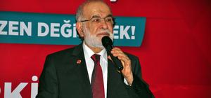 Saadet Partisi Genel Başkanı Karamollaoğlu: