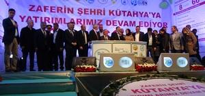 Bakan Eroğlu, Kütahya'da 8 tesisin temel atma törenine katıldı, vatandaşlara sahur yaptı