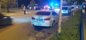 Niğde'de Yunus polisleri kaza yaptı