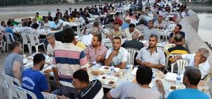 AGİAD'dan tarihi Taşköprü'de iftar yemeği