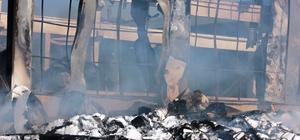 Osmaniye'deki kağıt fabrikası yangını