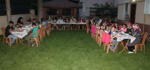 Kaymakam Üçer, çocuklarla birlikte iftar yaptı