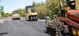 Hisarcık ile Hacılar arasında asfalt çalışması başladı