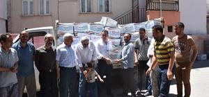 AKYAD'dan Bin 200 aileye Ramazan yardımı