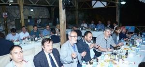 Darende'de iftar programı