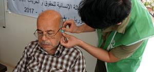 İşitme engelli Suriyelilere ücretsiz tedavi