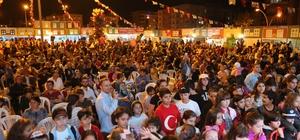 Atakum Ramazan Sokağı'na büyük ilgi