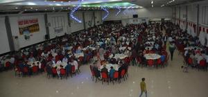 Tatvan'da yetimler için iftar