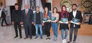 Cumhurbaşkanı Erdoğan, Üniak Altıntaş Başkanı Büşra Yalçın ekibine teşekkür belgesi gönderdi