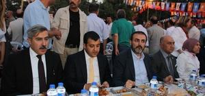 AK Partililer Hatay'da iftarda bir araya geldi