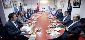 Bakan Özlü, Düzce yatırımları toplantısına katıldı