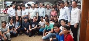 Nusaybin'de TEOG birincilerine iftar