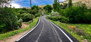 Hekimhan'da 4 mahallenin yolu asfaltlandı