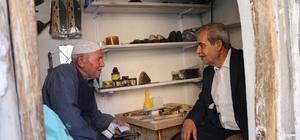 Başkan Demirkol, Devteşti'de esnaf ve vatandaşlarla görüştü