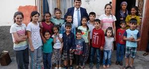 Başkan Fadıloğlu, Suriyeli ailelerin evine konuk oldu