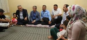 aşkan Tahmazoılu, Ramazan ayında evlere misafir oldu