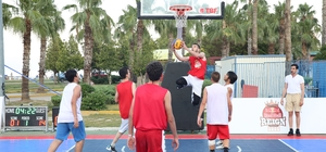 Finike'de 3x3 Sokak Basketbolu Finike Etabı Başladı