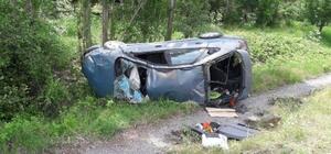 Şaphane'de trafik kazası: 3 yaralı