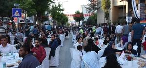 İpekyolu Belediyesinden iftar yemeği