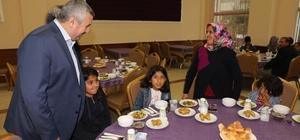 Başkan Baran orucunu yetim çocuklarla birlikte açtı