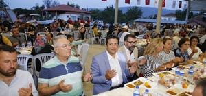 Dağbeli ve Bademağacı'nda iftar sofrası