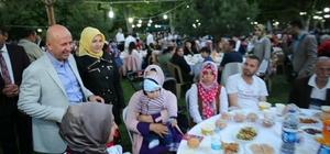 Kocasinan Belediyesi ailesi, iftar sofrasında buluştu