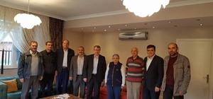 Başkan Yalçın ve Milletvekili Eldemir'den Akdoğan ailesine ziyaret