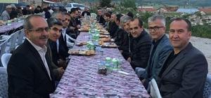 Abaş köyünde iftar