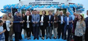 Atatepe Kültür Sanat ve Eğitim Merkezine görkemli açılış
