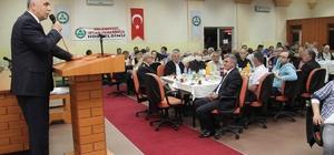 Vali Hasan Karahan, sanayi esnafıyla buluştu