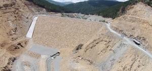 Şehit Tayfur Çankaya Barajı için çalışmalarından sona yaklaşıldı