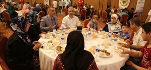 Başkan Çelikcan yetim çocuklarla iftar yaptı