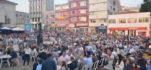 Evreşe Belediyesi Gelibolu'da iftar programı düzenledi
