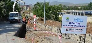 Tatvan'daki doğalgaz çalışmaları devam ediyor
