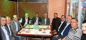 Başkan Toltar sahurda vatandaşlarla buluştu