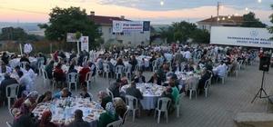 Marmaraereğlisi Belediyesi'nin iftar programları