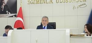 İzmir Büyükşehir Belediye Meclisinde gündem statlar