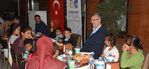 Başkan Özkan, yetim çocuklarla iftarda buluştu