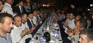 Hatay Büyükşehir Dörtyol'da iftar sofrası kurdu
