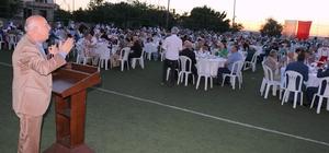 Marmaraereğlisi'nde görkemli iftar organizasyonu