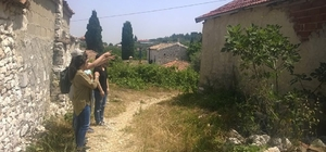 Didim'de kuş gözlemcileri Akköy'de incelemede bulundu