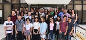 Köyceğiz Fen Lisesi öğrencileri TRT'yi ziyaret etti