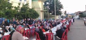 Adatepe köyünde bin kişilik iftar