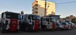 Terörün yaraları kardeş belediye destekleri ile sarılıyor