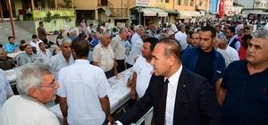 Başkan Sözlü, orucunu Aladağ'da vatandaşlarla açtı